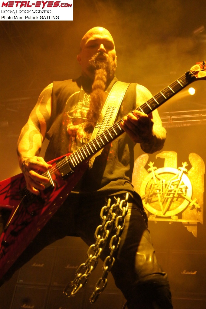 Kerry KING, Slayer, Paris le Zénith, 26 mars 2011