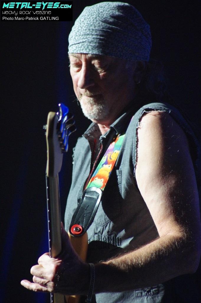 Roger Glove, Deep Purple - Paris, le Zénith, le 13 novembre 2012
