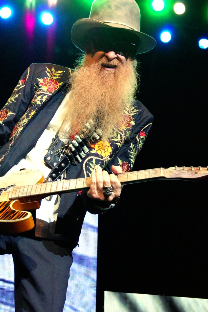 ZZ TOP PARIS 2013
