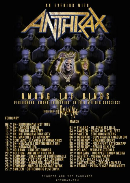 anthrax europe 2017