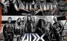 VULCAIN, ADX et HIGH SCREAM live à Olivet (45), le 8 avril 2017