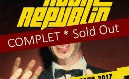 ROYAL REPUBLIC live à Paris (le 2 décembre 2017 au Cabaret Sauvage)