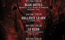 DREAMCATCHER live à Orléans (Blue Devil's, le 27 mai 2019)