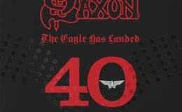 SAXON: The eagle has landed – 40 live