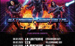 DRAGONFORCE live à Paris (La Machine, le 11 février 2020)