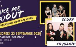 TOYBLOÏD live – avec Slurp (Terrasses du Trabendo, Paris, le 23 septembre 2020)